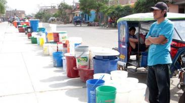 Trujillo: la falta de agua agobia a más de 400 mil personas