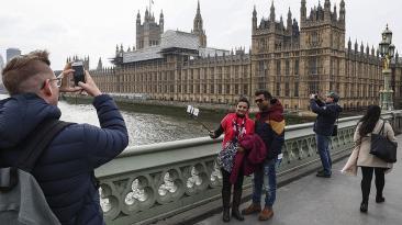 Calma en Londres al día siguiente del ataque terrorista