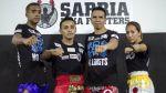 Kickboxing: tres atletas peruanos pelean este sábado en Chile - Noticias de claudia soto