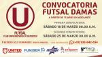 Universitario quiere hacerse fuerte en el futsal femenino - Noticias de lolo fernandez
