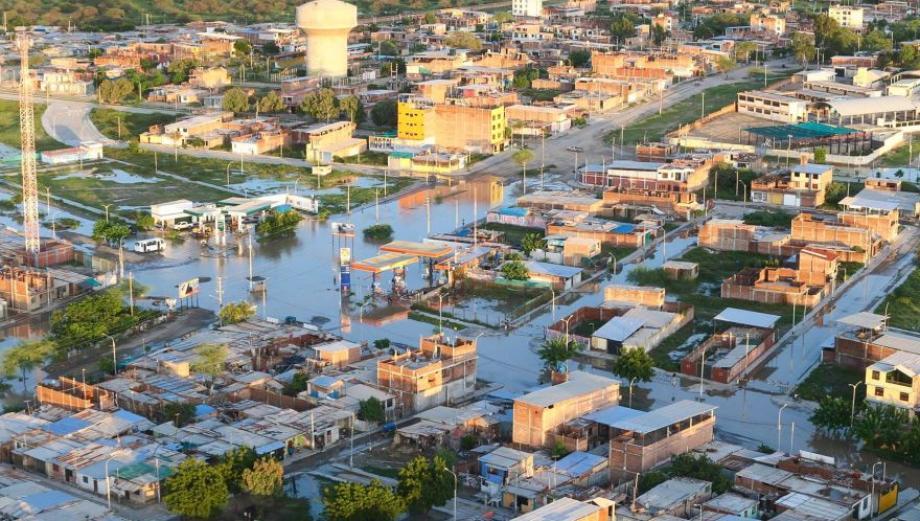 Piura y Tumbes: imágenes tras lluvia más fuerte en 18 años