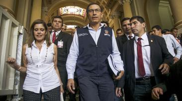 Congreso: la frustrada interpelación a Martín Vizcarra [FOTOS]