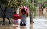 Piura sigue inundada en varios puntos por las lluvias [VIDEO]