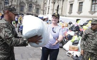 Palacio de Gobierno continuará recibiendo donaciones