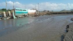 Áncash: huaicos dejan sin agua a Chimbote y Nuevo Chimbote