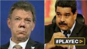 """Santos a Maduro: """"Lo que hizo Venezuela es inaceptable"""""""