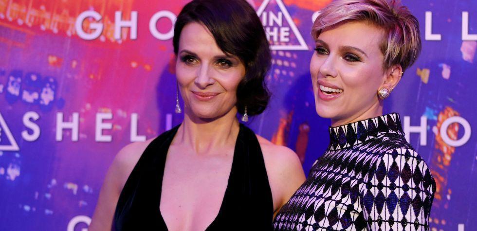 Scarlett Johansson y Juliette Binoche en premier