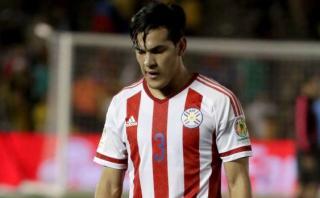 Gustavo Gómez, paraguayo del AC Milan, desconvocado por lesión