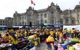 Voluntarios y donaciones siguen llegando a Palacio de Gobierno