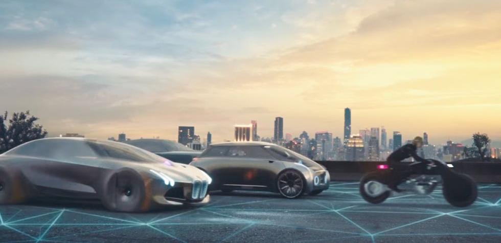 Así será el futuro de los autos, según BMW