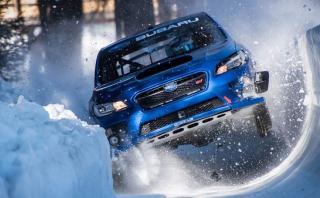 Este Subaru WRX STI desafía a la nieve