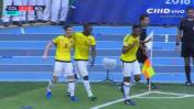 El gol de James con suspenso que le dio triunfo a Colombia