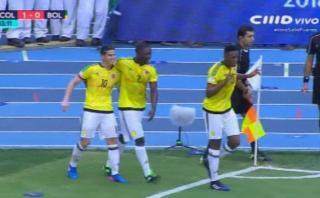 James Rodríguez y gol que da vida a Colombia en Eliminatorias