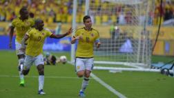 Colombia venció 1-0 a Bolivia con gol de James en Barranquilla