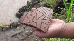 Junín: desborde de río devela vestigios arqueológicos