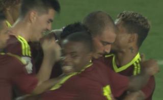 Selección: Venezuela abrió el marcador con remate de cabeza
