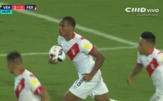 André Carrillo y su gran definición en el 2-1 de Perú [VIDEO]