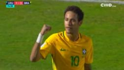 Neymar: impresionante golazo a Uruguay da vuelta al mundo