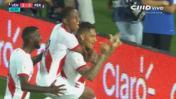 Selección peruana: Paolo Guerrero anotó tras impecable cabezazo