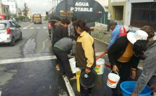 Arequipa: se prolonga por una semana más corte de agua potable