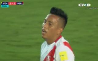 Cueva se perdió gol del triunfo de Perú y Gareca se lamentó así