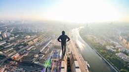 Kirill se ha subido a lo alto de prácticamente todos los edificios de Moscú. (Foto: Kirill Vselensky)