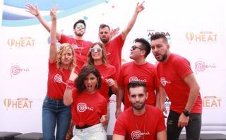 Artistas del Festival Heat Perú se unen a #UnaSolaFuerza