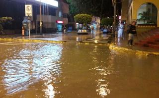 Tumbes vuelve a soportar lluvias con tormentas eléctricas
