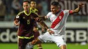 Perú igualó 2-2 ante Venezuela por Eliminatorias Rusia 2018