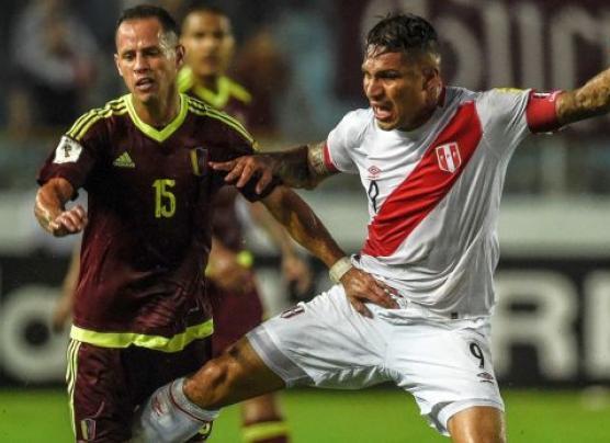 Perú igualó 2-2 ante Venezuela por las Eliminatorias Rusia 2018