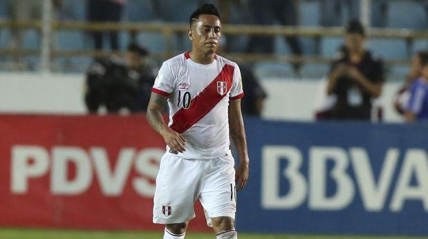 Christian Cueva dio detalles de la clara opción que desperdició al final del partido entre Perú y Venezuela. (Video: CMD/Foto: AP)