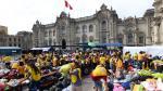 Voluntarios y donaciones siguen llegando a Palacio de Gobierno - Noticias de base naval del callao