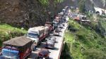 Carretera Central: Policía pide a pasajeros que no viajen - Noticias de lluvias