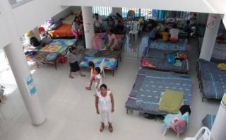 Hay 36 albergues para los damnificados de La Libertad