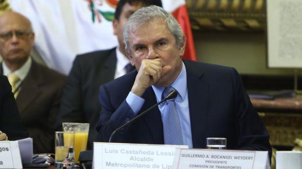 Congresista de APP plantea citar al alcalde Castañeda Lossio