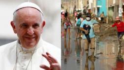 El Vaticano le envió US$100.000 a los damnificados del Perú