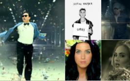 Los videos musicales más vistos en la historia de YouTube