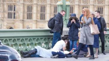 Londres: Habla la protagonista de la foto que se volvió viral
