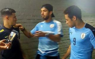 Neymar y Suárez: el encuentro tras 4-1 y el regalo del charrúa