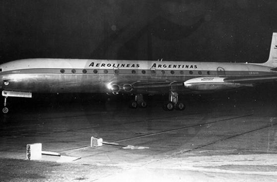 En 1970 llega a Lima avión secuestrado por argentinos