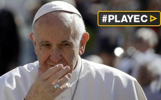 """Papa Francisco: """"La Unión Europea corre el riesgo de morir"""""""