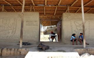 Piura: lluvias dañan acceso y cerco de fortaleza de Narihualá