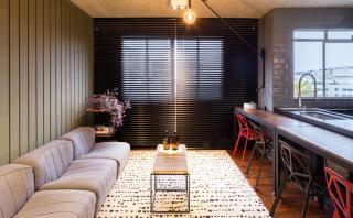 En 55 m2: El departamento ideal para los amantes de lo moderno