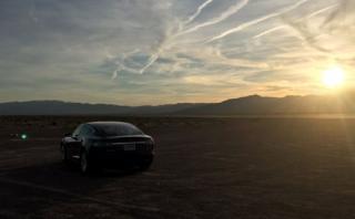Elon Musk mostró en Twitter un video con el Tesla Model 3