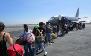 San Martín: pasajeros varados en Trujillo regresan a Tarapoto