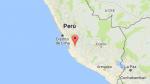 Sismo de magnitud 4,5 se registró en Huancavelica - Noticias de alimentos perecibles