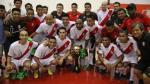 Selección peruana de futsal: lista oficial para la Copa América - Noticias de copa