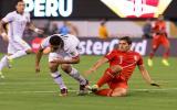 Aldo Corzo se ganó a pulso la titularidad en el once peruano. (Foto: Getty Images)