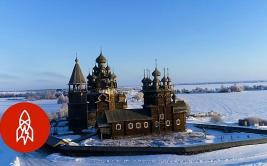 Iglesias de madera resisten hace cientos de años clima de Rusia