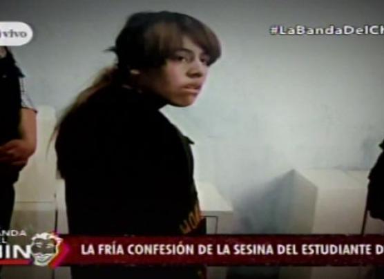 La escabrosa confesión de la asesina del estudiante en SJL